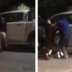 ¡Desgreñada! Mujer encara a amante de su marido en Chihuahua (VIDEO)