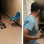 Doctores se hacen virales al echar la fiaca y de paso ¡captar un fantasma! (VIDEO)