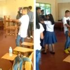 ¿Forever alone? El video de alumno bailando con silla que conmueve a redes