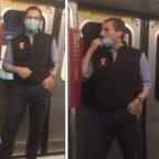 Redes tunden a hombre por lamerse en público durante pandemia de COVID-19