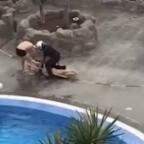 ¿Cuarentena en prisión? Detienen a mujer por nadar durante contingencia por coronavirus