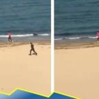 Flash 2.0: hombre escapa a toda velocidad de policías en Italia (VIDEO)