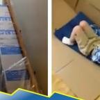 Inocencia: niños crean su propio juego de feria en cuarentena (VIDEO)