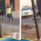 Policía se hace viral por bailar con hombre que rompió la cuarentena (VIDEO)