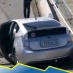 Conductor de Rusia sobrevive a caída de puente; difunden video del accidente