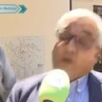 Difunden video de ciclista estrellándose con alcalde de Bélgica