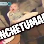 Difunden video de padre que sintió terremoto y olvidó a uno de sus hijos
