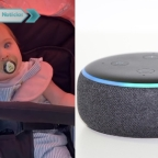 Bebé cree que se llama Alexa, como el asistente virtual de Amazon