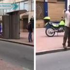 Hombre se hace viral por despotricar contra policías que lo intentaron detener
