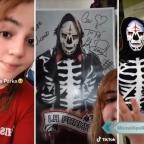 Hija de La Parka revela el rostro de su papá en TikTok (VIDEO)