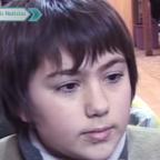 Me gusta el arte: así luce Juan Sánchez, el niño amante de la literatura