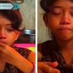 Captan a niña comiendo su sopa y llorando con canción de José José