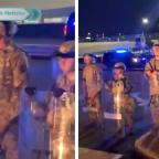 Redes reaccionan a video de supuestos niños soldados en Estados Unidos