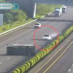 Tesla impacta a redes por choque con camión en Taiwán (VIDEO)