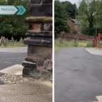 Vidente visita cementerio y capta supuesto fantasma entre las lápidas (VIDEO)