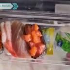 Familia compra camarón brilloso y descubre que estaba contaminado (VIDEO)