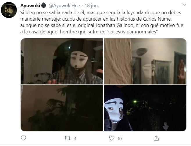 Jonathan Galindo, cuenta de retos virales que llevan al suicidio