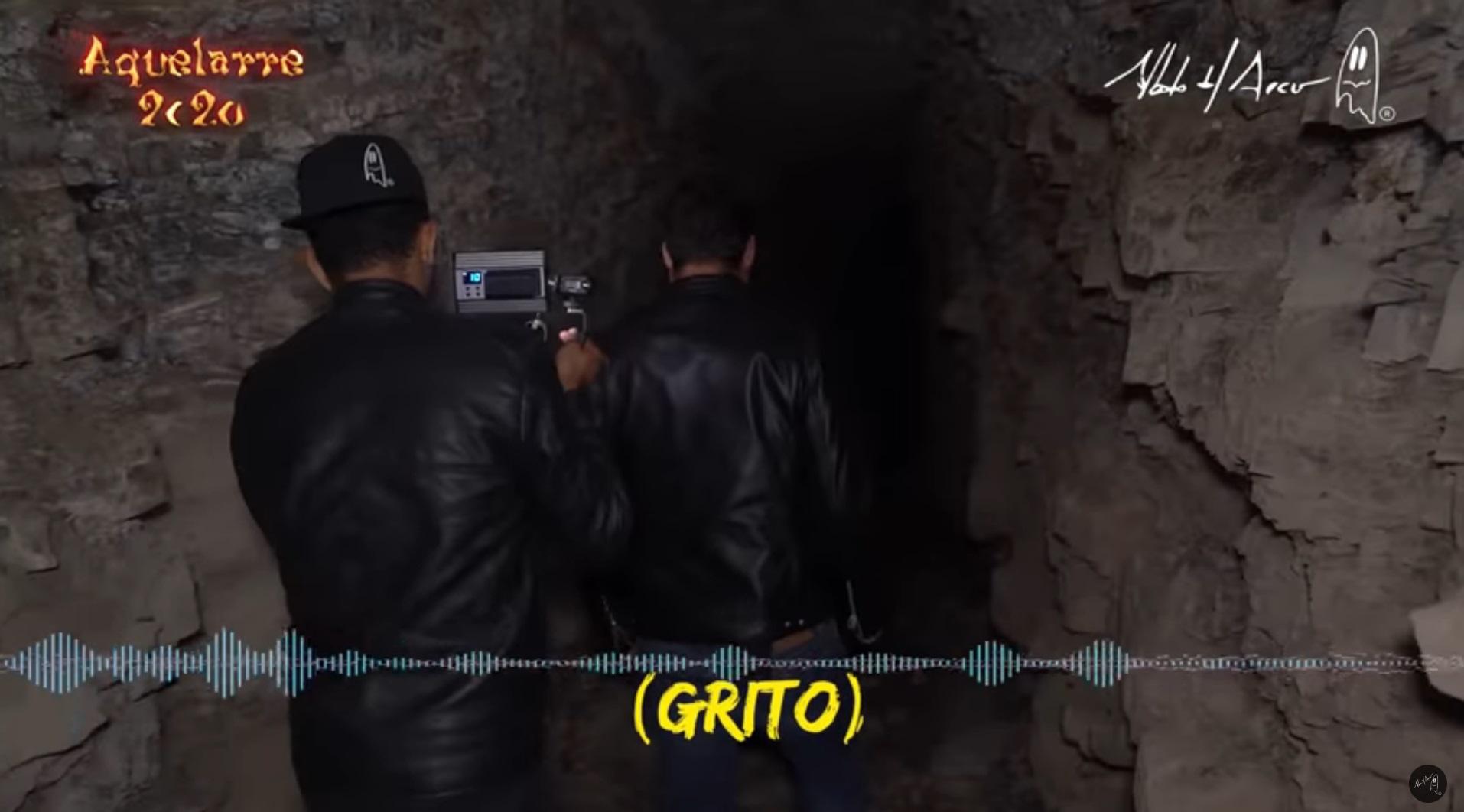 Investigador paranormal graba extraña figura en túnel de hacienda abandonada