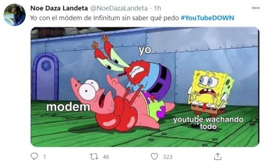 falla en YouTube 14