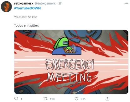 falla en YouTube 15