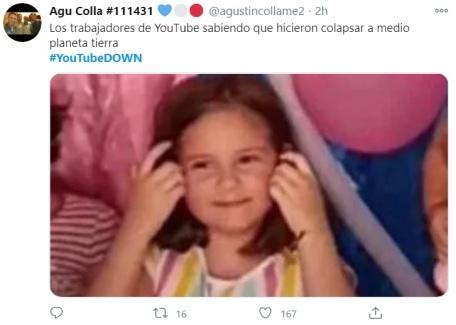 falla en YouTube 17