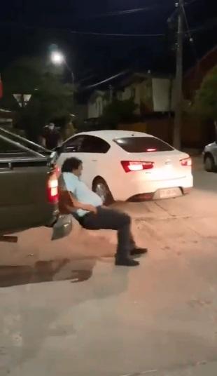 sacerdote atropellado en chile