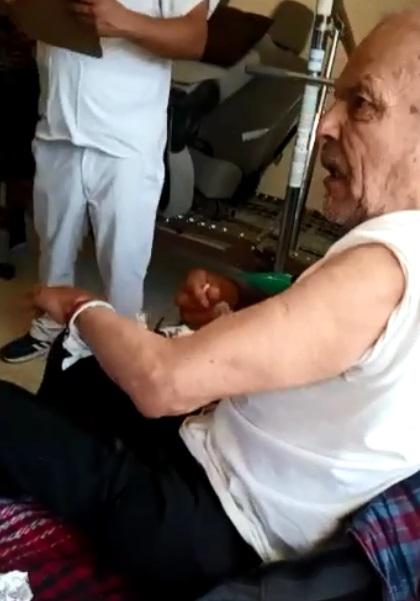abuelito viral por enojarse