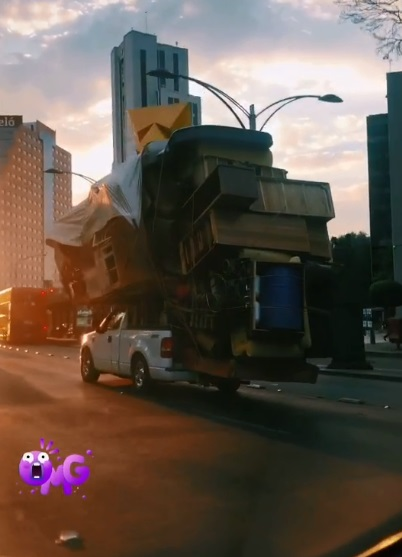 camioneta de mudanzas
