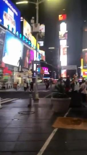 dron en nueva york