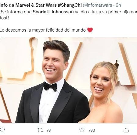 nace hijo de Scarlett Johansson 13